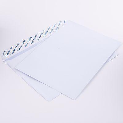 100 Briefumschläge weiß 80g/m² C5 ohne Fenster 162x229mm haftklebend ( C50.10E) ()