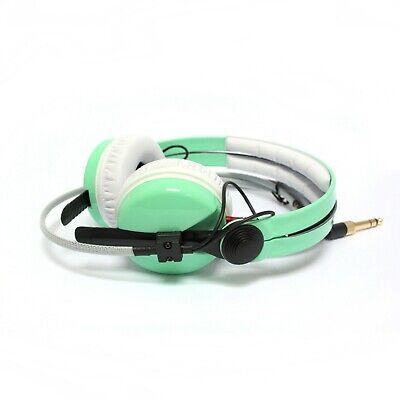Custom Cans Mint Vintage Sage Green Pastel HD25 DJ Headphones 2yr Warranty
