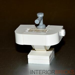 LEGO Furniture:  Custom Bathroom Sink  -  Set w/ Parts & Instructions  [minifig]