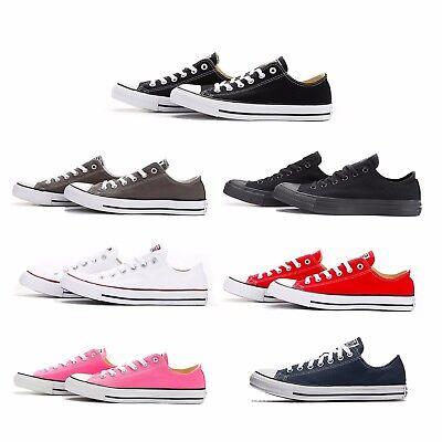 Converse Chuck Taylor All Star Ox Low Top Shoe Men Women Unisex Canvas 7 colors (Chuck Taylors Colors)