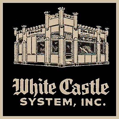 White Castle Hamburger Restaurant Fridge Magnet