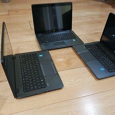 Joblot 3x HP Laptops Core i7 16GB RAM  SSD Touchscreen Dedicated Graphics Card