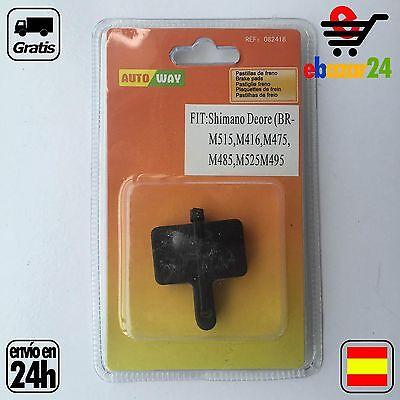Pastillas de freno disco MTB compatible SHIMANO DEORE *Envío GRATIS desde España