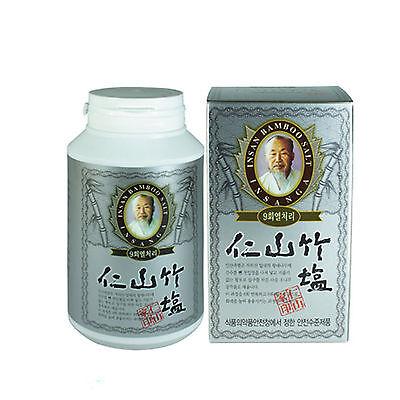 Insan bamboo salt 100% (9 times roast) powder 230g juky