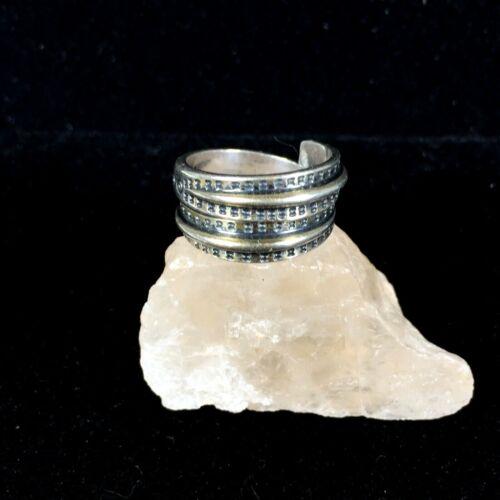 Vintage David Andersen Sterling Silver Viking Ring Year 300 Sz 6 Norway Wrap 925