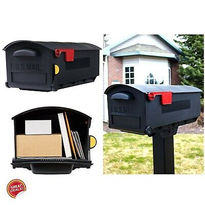 Extra Large Mailbox Package Parcel Mail Drop Box Jumbo Rural Oversized With (Large Box Software)