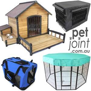 PetJoint Dog Houses Pet Crates Heavy Duty PlayPen Cat Cage Kennel