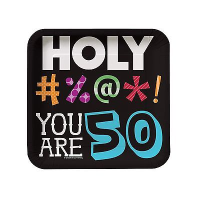 8 Holy Bleep! 50th Happy Birthday Party Small 7
