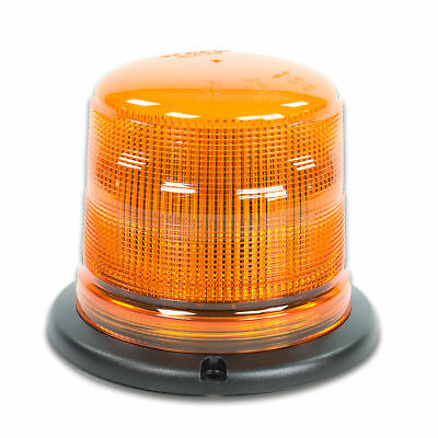 LED-MARTIN Rundumleuchte SESTO - 11 Blitzmuster - gelb - 3-Punkt - 12V 24V. Prof