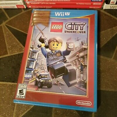NEW LEGO City Undercover (Nintendo Wii U, 2013) FACTORY SEALED