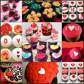 Cupid Cuppies - Valentines Treats -  Sugar Rush
