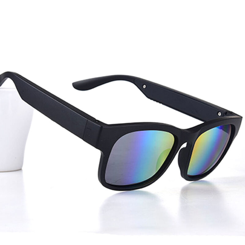 Smart Glasses bluetooth Polarized Bone Conduction Headphone Headset Sunglasses