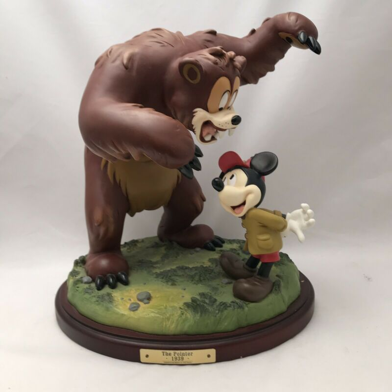 1999 Disneyana The Pointer 1939 Signed And Numbered Figure 920/1500 Bear Mickey