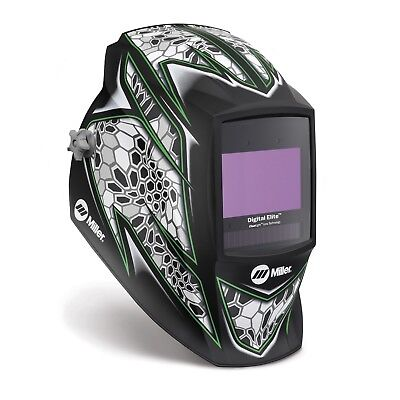 Miller Raptor Digital Elite Welding Helmet With Clearlight Lens 281007