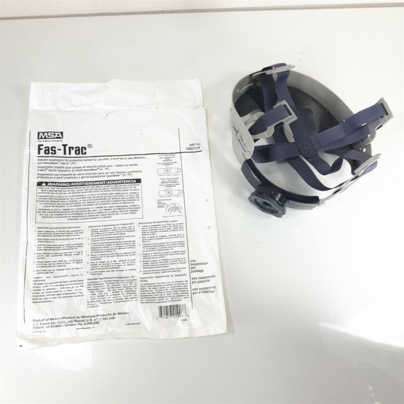 (25 Pack) OEM GENUINE Fas-Trac II MSA Hard Hat Ratchet Suspension Replacement