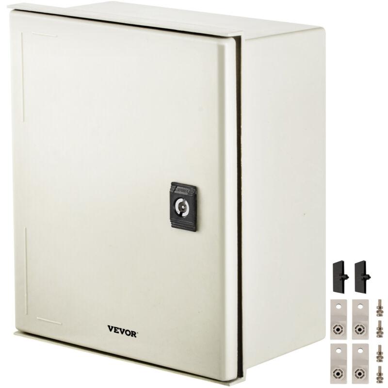 """Vevor Fiberglass Enclosure Electrical Enclosure Box 11.8 X 9.8 X 5.5""""wall Mount"""