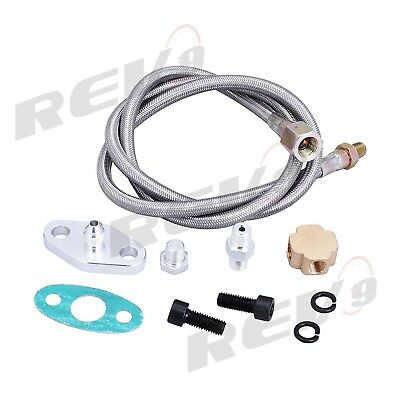 Rev9 Turbo Oil Feed Line 4AN, 50