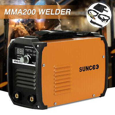 Arc Welding Machine Mma200 Amp Dc Inverter Igbt Welder Mini Handheld 110v220v