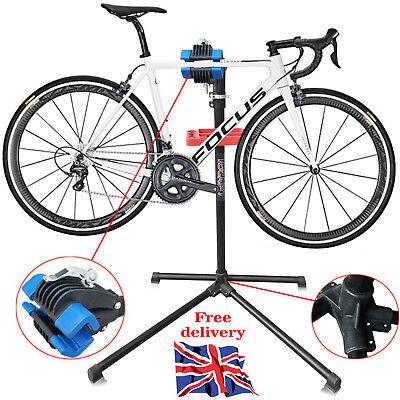 Home Mechanic Bike Bicycle Cycle Folding Repair Maintenance Work Stand Rack