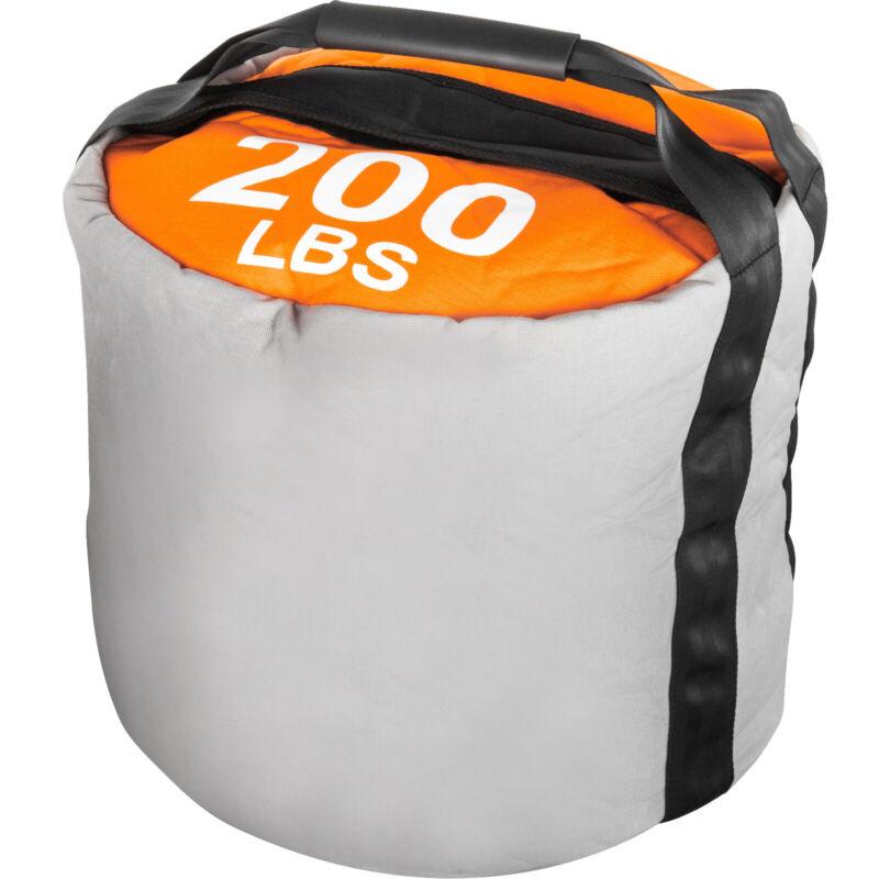 200LBS Fitness Sandbag Strongman Sandbags 1000D Nylon Workout Strength Training