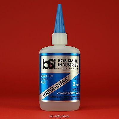 "Bob Smith (BSI) ""INSTA-CURE"" Thin CA Glue - 2 oz Bottle Cyanoacrylate Adhesive , used for sale  Sanford"
