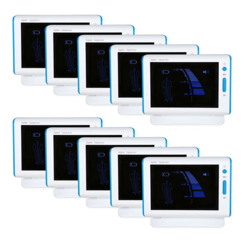 10 x Dental Root Canal Apex Locator Endo Measure LCD screen DTE DPEX III