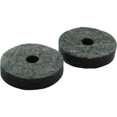 2 Hi Hat Cymbal Stand Seat Felts (for drum kit)