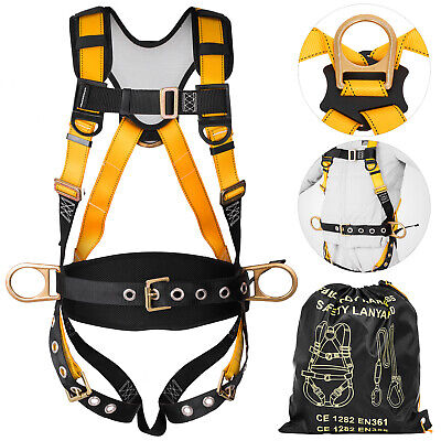 Safety Harness Construction Harness Universal Full Body 3 D-ring Waist Belt