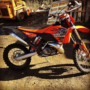 2009 KTM 300xc Great Condition