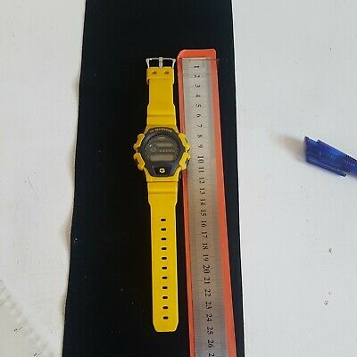 Casio G-Shock 1659 DW-004 Yellow Made in Thailand Chronograph Wr 200m A/F