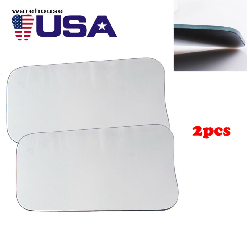 US 2PC 2-sided Dental Intraoral Orthodontic Photographic Glass Mirror For Clinic