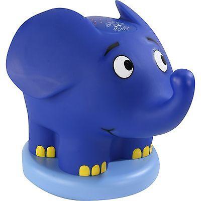 Ansmann Musik-Sternenlicht Elefant, Nachtlicht, blau