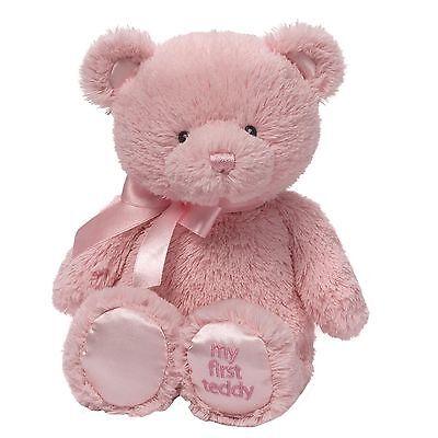 Gund 4043949 Baby My First Teddy Small Pink