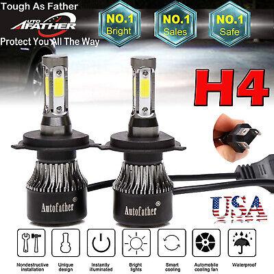 LED Headlight Bulb Kit H4 for Toyota Tacoma RAV4 4Runner Sienna Tundra Corolla