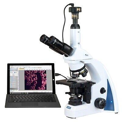 Omax 40x-3000x 10mp Digital Quintuple Infinity Plan Darkfield Kohler Microscope