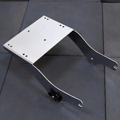 Detachable 2-up Trunk Mount For Harley Davidson King Tour Pack Pak Latches 97-08