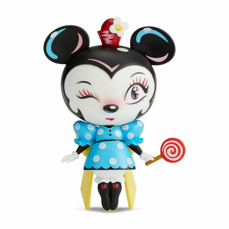 Enesco World of Miss Mindy Disney Minnie Mouse Vinyl Figurine 7 Inch