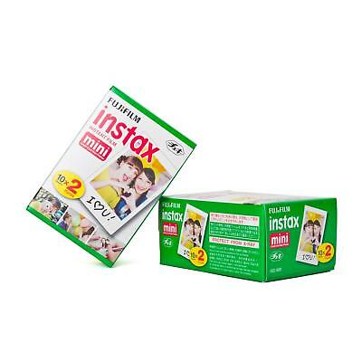 Fuji Instax Mini Film Sofortbildfilm 2x Doppelpack 40 Bilder Instant 8 9 25 70