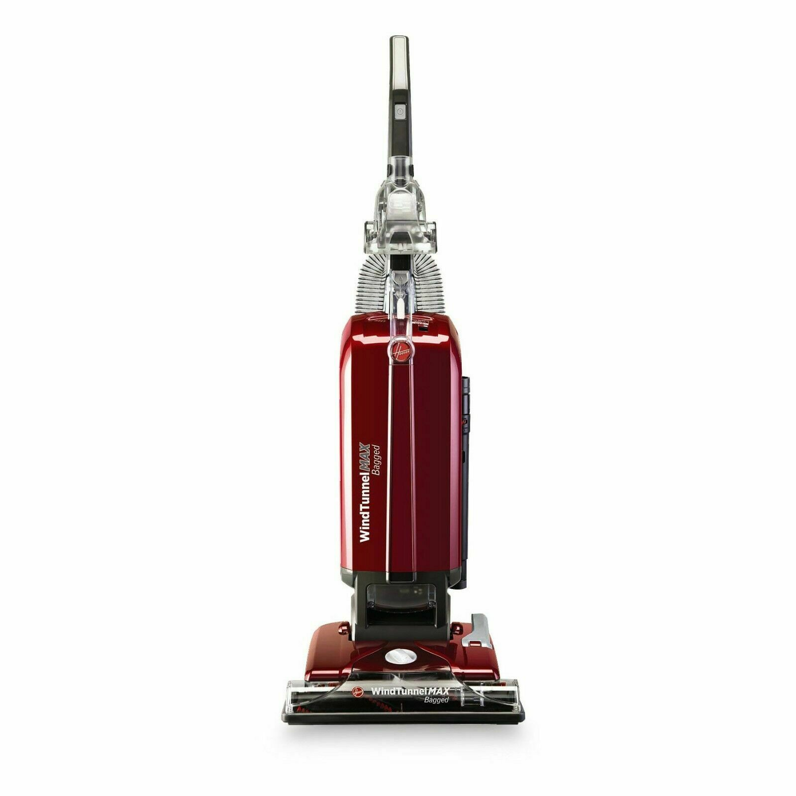 Hoover UH30600 WindTunnel MAX Bagged Upright Vacuum Cleaner - Red