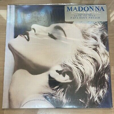Madonna - True Blue Korea Vinyl LP NEW and Sealed 1986