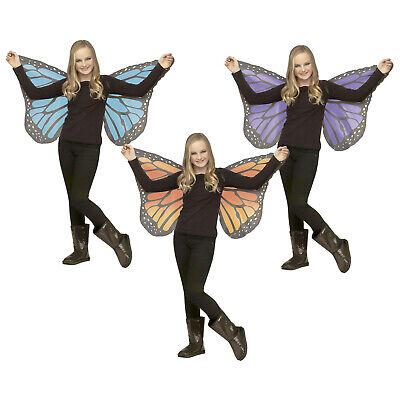 Monarch Wings Costume (Child's Monarch Butterfly Wings Fairy Halloween Costume Accessory Purple)