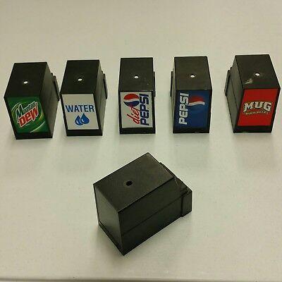 Countertop Cornelius 6 Head Soda Pop Dispenser Plastic Head Valvesolenoid Cover