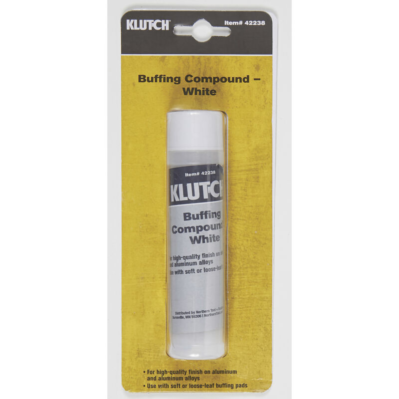 Klutch Buffing Compound - 1 Stick, White
