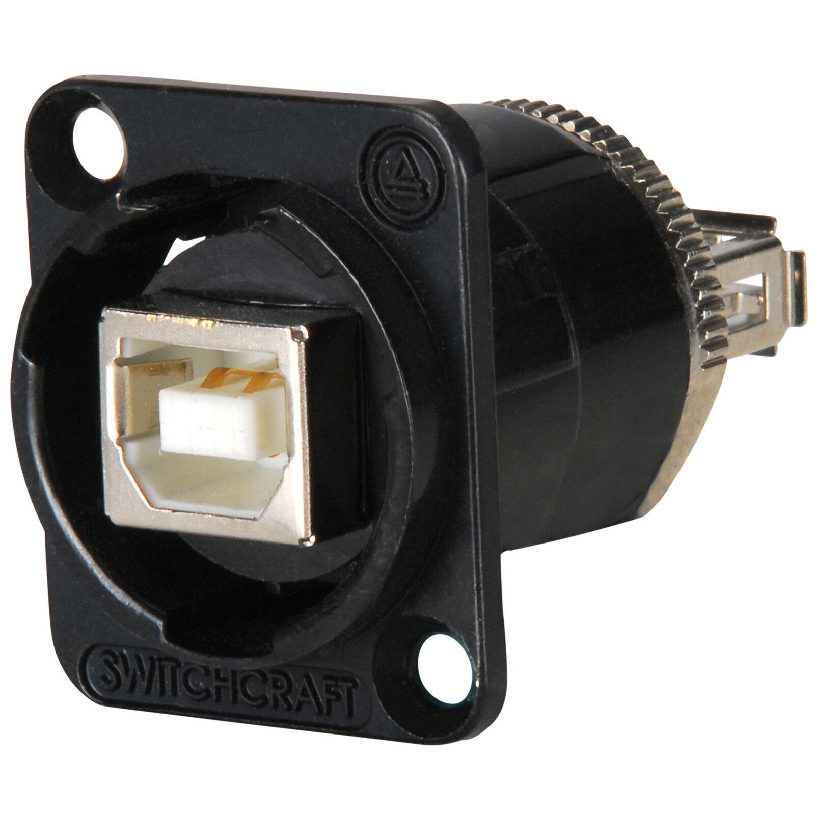 - Pack of 2 USB Connectors USB B TO A BLACK, EHUSBBABXPKG