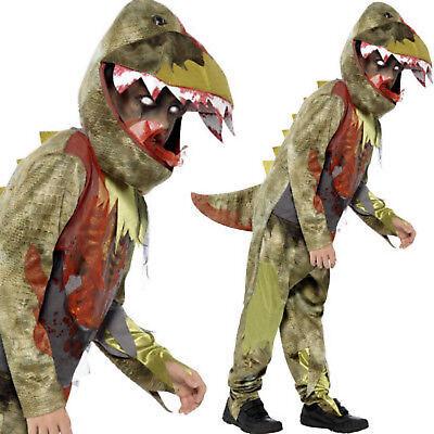 Jungen Luxus Tödlicher Dinosaurier Halloween Kinder Kostüm Verkleidung