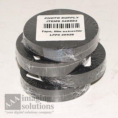 4 rolls of Film Extractor Tape - Noritsu, Fuji, Kodak minilab 28926 345883