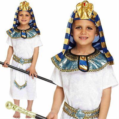 Jungen Ägyptischer Pharao King Kostüm Buch Woche Kostüm Historisch Kinder - Pharao Kostüm Junge