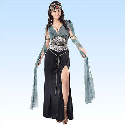 Medusa Gr. 38-40 Kostüm Griechische Göttin Schlangenkostüm Schlangen - Medusa Schlangen Kostüm