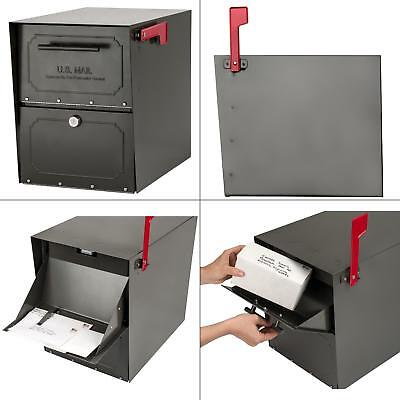 Mount Mailbox Oasis Classic Parcel with High Security Locking Post