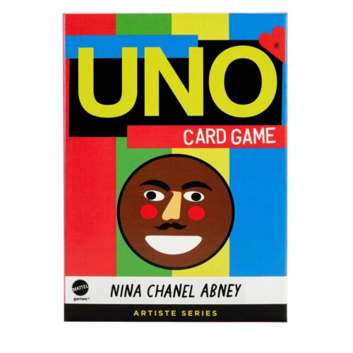 Mattel UNO Artiste Series Nina Chanel Abney Card Game | Limited Edition